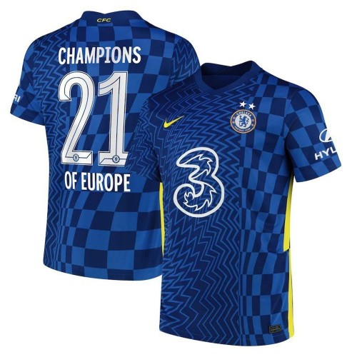 MAILLOT CHELSEA DOMICILE CHAMPIONS OF EUROPE 2021-2022