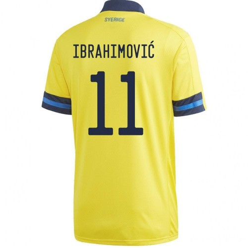 MAILLOT SUEDE DOMICILE IBRAHIMOVIC 2020-2021